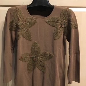Petite, Anna Kevin NYLadies sweater size L